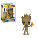 Figurine Pop! Groot Avec Stormbreaker Infinity War Marvel