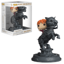 Harry Potter Ron Riding Chess Piece Pop! Movie Moment Figure