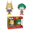 Figuras Funko Vynl. All Might y Deku - My Hero Academia