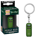 Rick and Morty Pickle Rick Pop! Vinyl Keychain