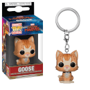 Marvel Captain Marvel - Goose the Cat Pop! Keychain