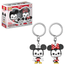 Llavero Funko Pop! Disney - Mickey & Minnie Mouse 2-pack