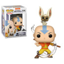 Avatar Aang with Momo Funko Pop! Figuur
