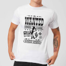 Toy Story Wanted Poster Herren T-Shirt - Weiß