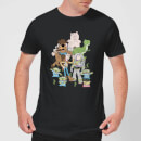 Toy Story Group Shot Men's T-Shirt - Black