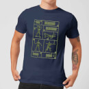 Toy Story Plastic Platoon Men's T-Shirt - Navy