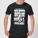 Camiseta Disney Toy Story Póster Wanted - Hombre - Negro