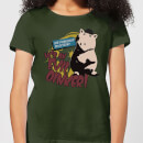 Toy Story Evil Oinker Women's T-Shirt - Forest Green
