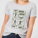 Toy Story Plastic Platoon Women's T-Shirt - Grey