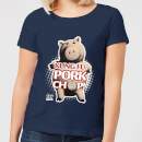 Toy Story Kung Fu Pork Chop Women's T-Shirt - Navy