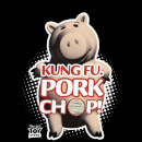 Toy Story Kung Fu Pork Chop Women's T-Shirt - Black