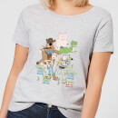 Toy Story Group Shot Women's T-Shirt - Grey