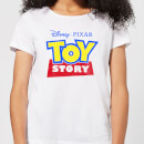 Toy Story Logo Women's T-Shirt - White