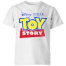 Toy Story Logo Kids' T-Shirt - White