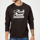 Toy Story Pizza Planet Logo Sweatshirt - Black