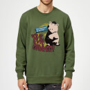 Toy Story Evil Oinker Sweatshirt - Forest Green