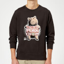 Toy Story Kung Fu Pork Chop Sweatshirt - Black