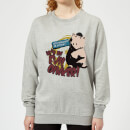 Toy Story Evil Oinker Women's Sweatshirt - Grey