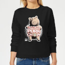 Toy Story Kung Fu Pork Chop Women's Sweatshirt - Black