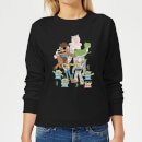 Toy Story Group Shot Women's Sweatshirt - Black