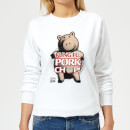 Toy Story Kung Fu Pork Chop Women's Sweatshirt - White