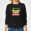 Toy Story Logo Women's Sweatshirt - Black