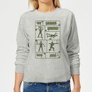 Toy Story Plastic Platoon Women's Sweatshirt - Grey
