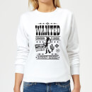Sweat Femme Affiche Wanted Toy Story - Blanc