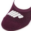 Invisible Socks - Mulberry (3 Pack) - UK 3-6 - Mulberry