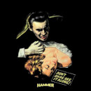 Hammer Horror Dracula Don't Dare See It Alone Men's T-Shirt - Black