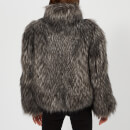 Philosophy di Lorenzo Serafini Women's Fur Jacket - Grey