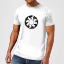 Magic The Gathering White Mana Splatter Men's T-Shirt - White