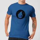 Magic The Gathering Blue Mana Splatter Men's T-Shirt - Royal Blue