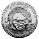 Chucky Collector's Limited Edition Coin: Silver Variant