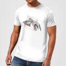 Florent Bodart Fish In Geometry Men's T-Shirt - White