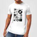 Florent Bodart Data Men's T-Shirt - White