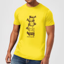 Florent Bodart Cow Cow Nuts Men's T-Shirt - Yellow