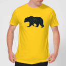 Florent Bodart Bear Men's T-Shirt - Yellow
