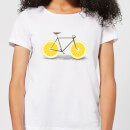 Florent Bodart Citrus Lemon Women's T-Shirt - White