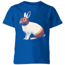 Florent Bodart Lapin Catcheur Kids' T-Shirt - Royal Blue