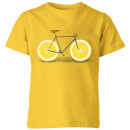 Florent Bodart Citrus Lemon Kids' T-Shirt - Yellow