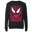Venom Carnage Women's Sweatshirt - Black