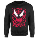 Sweat Homme Venom Carnage Marvel - Noir
