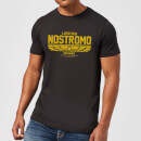 Alien USCSS Nostromo Men's T-Shirt - Black