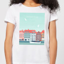 Copenhagen Women's T-Shirt - White