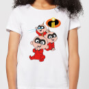 Incredibles 2 Jack Jack Poses Women's T-Shirt - White