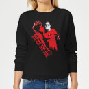 Incredibles 2 Saving The Day Women's Sweatshirt - Black