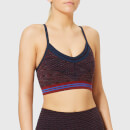 LNDR Women's Moon Side Sports Bra - Burgundy Marl