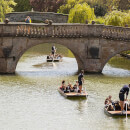 Chauffeured Cambridge Punting Tour for Two