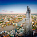View from the Shard and a Three Course Champagne Celebration at Marco Pierre White's London Steakhouse Co. for Two